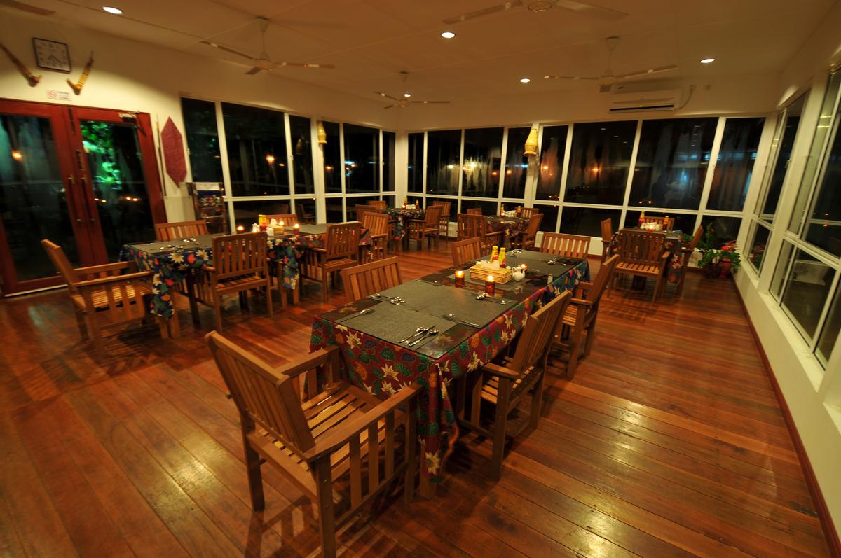 苏高区唯一一间封闭式餐厅